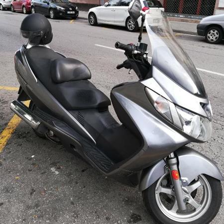 Salidas scooter